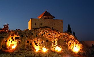 """Amioun - Saint John """"al-sheer"""" church (the Cliff)"""