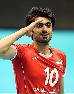 Amir Ghafour Iranian volleyball player