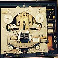 Ampex 800 tape recorder, top plate removed (16885983341).jpg
