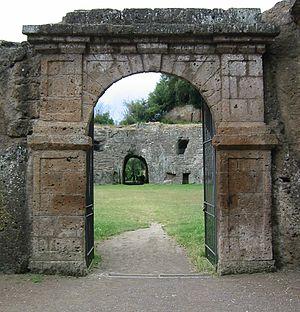 Sutri - Image: Amphitheatre of Sutri