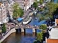 Amsterdam Westerkerk Blick vom Turm auf die Prinsengracht 4.jpg