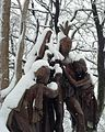 An Historical Incident of November, 1764 (A Captive's Choice), Statue in Lincoln Park, Newark, NJ.jpg