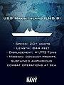 An informational graphic depicting the amphibious assault ship USS Makin Island (8619670382).jpg