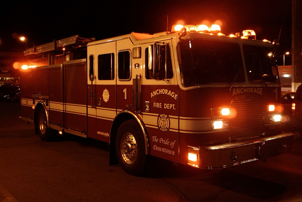 Anchorage Fire Department Engine 1