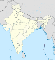 Map of India with the location of আন্দামান বারো নিকোবর দ্বীপমালা চিহ্নিত