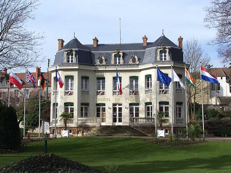 Town hall of Andrésy (Yvelines, France)