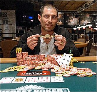 World Series of Poker Casino Employee Championship - Andrew Cohen, the 2009 World Series of Poker Casino Employee Championship winner