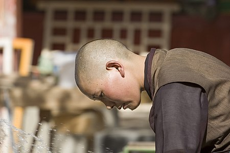 Female Monastery in Tibet