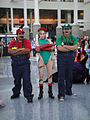 Anime Expo 2010 - LA - Cammy from Street Fighter with Mario and Luigi.jpg