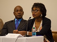 Anita Hill and Charles Ogletree Sep 2014.jpg