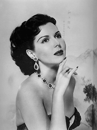 The Big Record - Ann Miller in promotional photo for a 1957 episode