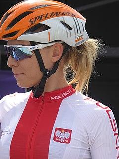 Anna Plichta Polish cyclist