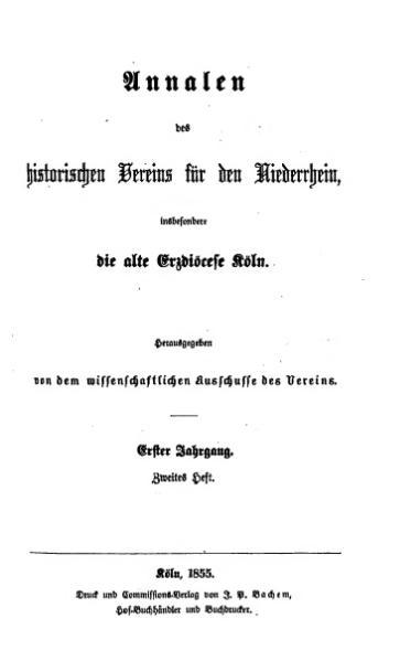 File:Annalen des Historischen Vereins für den Niederrhein 02 (1855).djvu