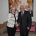 Annette Schavan calls on the Union Minister for Human Resource Development and Communications and Information Technology, Shri Kapil Sibal, in New Delhi on May 31, 2011.jpg