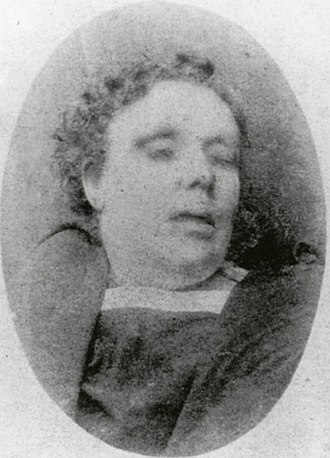 Whitechapel murders - Annie Chapman, 47, lived in a lodging-house at 35 Dorset Street.