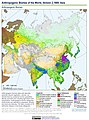 Anthropogenic Biomes of the World, Version 2, 1900 Asia (13603715275).jpg