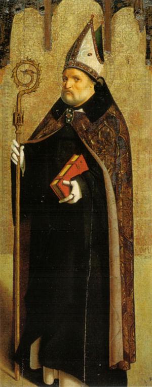 Sforza Castle Pinacoteca - Image: Antonello da messina, san benedetto