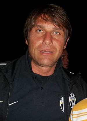 Antonio Conte - Conte with Juventus in 2012