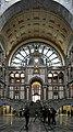 Antwerp, BE (DSC 0172) Antwerpen-Centraal railway station main hall.jpg