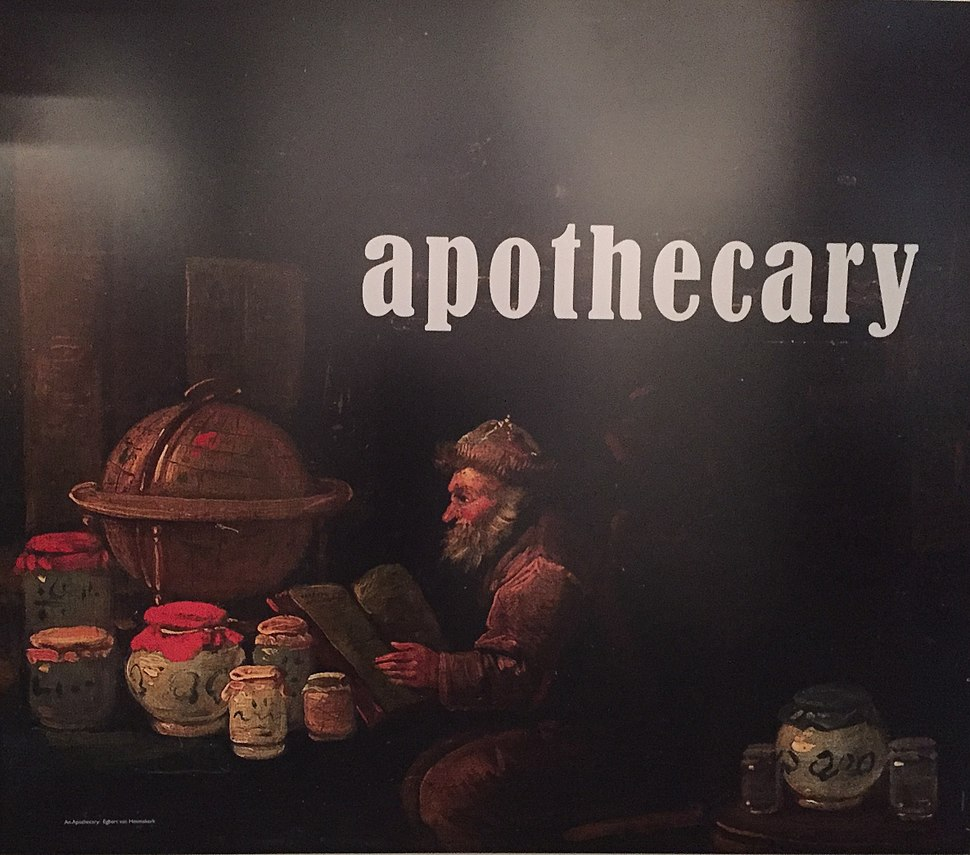Apothecary image