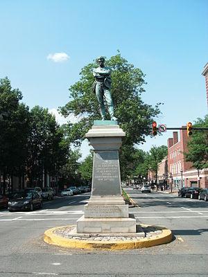 Appomattox (statue) - Image: Appomattox statue in Alexandria