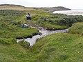 Approaching the ford over the Allt a'Mhuilinn at Gortan - geograph.org.uk - 1449185.jpg