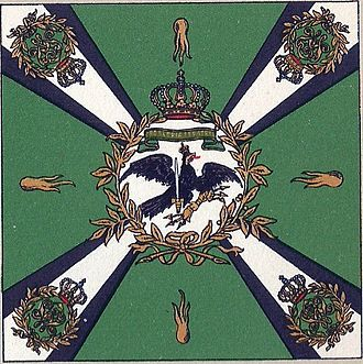 X Corps (German Empire) - Flag of the Jägers