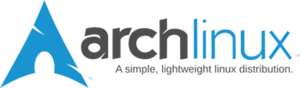 English: Logo of Arch Linux Nederlands: Het lo...