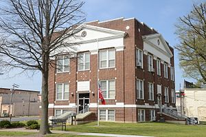 National Register of Historic Places listings in Arkansas County, Arkansas - Image: Arkansas County Courthouse Northern District