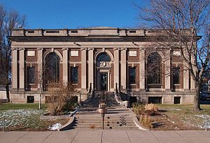National Register of Historic Places listings in Ramsey County, Minnesota - Image: Arlington Hills Library 2012