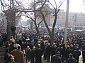 Armenian Presidential Elections 2008 Protest Day 11 - French Embassy Demonstration 130pm general view.jpg
