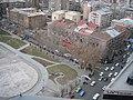 Armenian Presidential Elections 2008 Protest Mar 21 - Opera Square perimeter general view.jpg