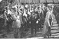 Armia Polska we Francji - Sille-le Guillaume - wizyta gen Louisa Archinarda NAC 1-H-256-5.jpg