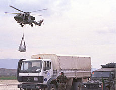 Army Lynx Helicopter Helps Transport Aid in Macedonia MOD 45108219.jpg