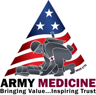 United States Army Medical Command -  The new Army Medicine logo.