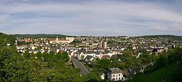 Blick von der Altstadt nach Osten über Arnsberg, Nordrhein-Westfalen