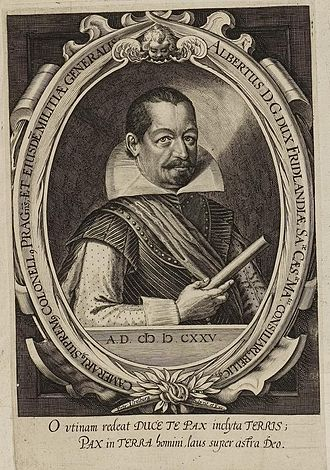 Generalissimo - Wallenstein – Albrecht von Waldstein, 1625, 1st Generalissimo