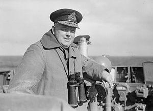 Stuart Bonham Carter - Vice Admiral Bonham-Carter on the bridge of HMS ''Edinburgh'', 1942