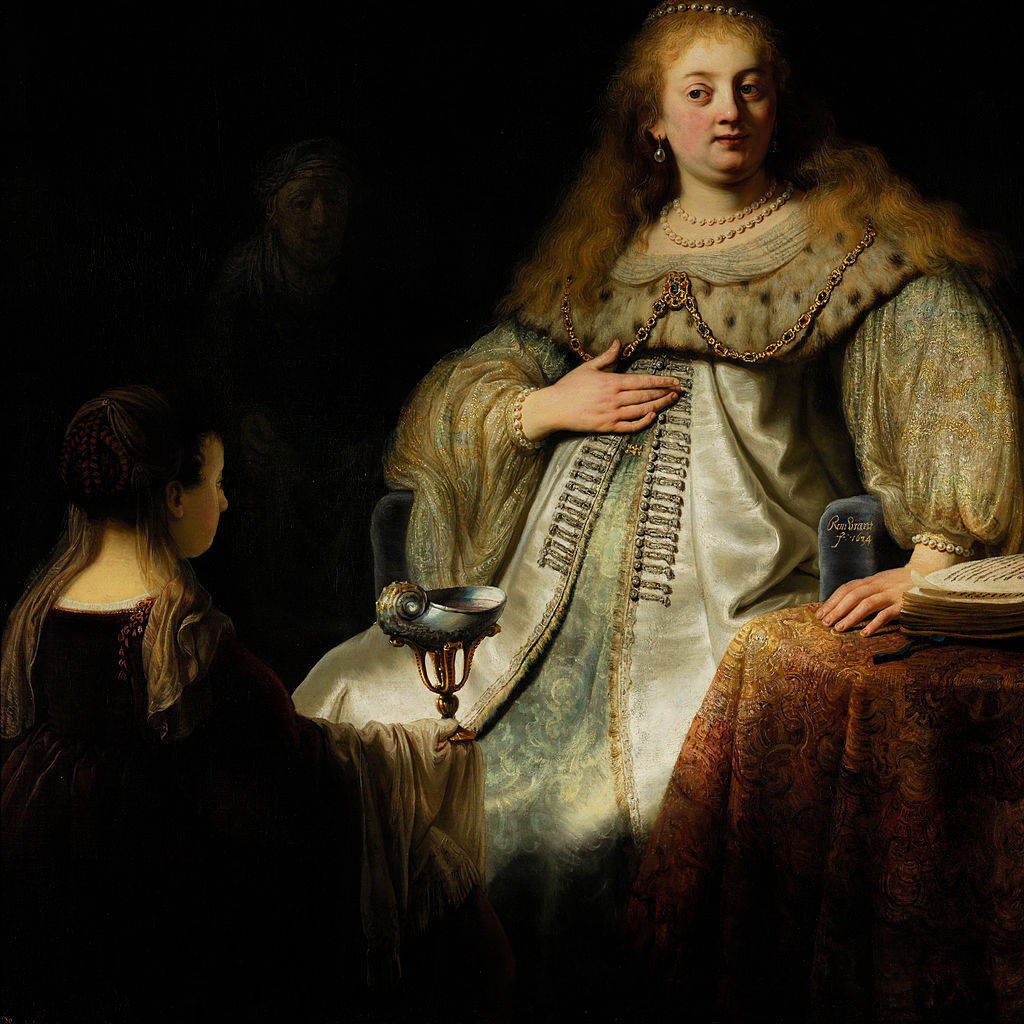 Full Size Van >> File:Artemisia, by Rembrandt, from Prado in Google Earth ...