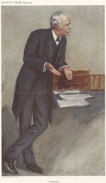 Arthur Balfour Vanity Fair 27 January 1910