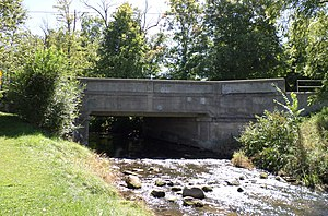 National Register of Historic Places listings in Ingham County, Michigan - Image: Ash Street Bridge Mason