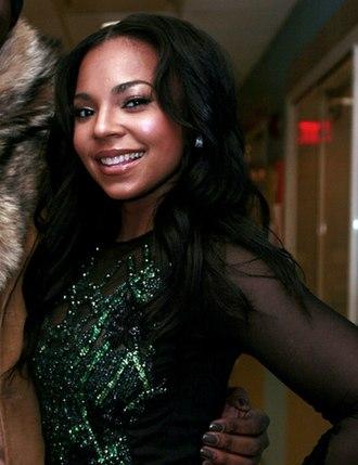 Ashanti (singer) - Ashanti in February 2012