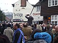 Ashbourne, Royal Shrovetide outside 'the bridge'.jpg