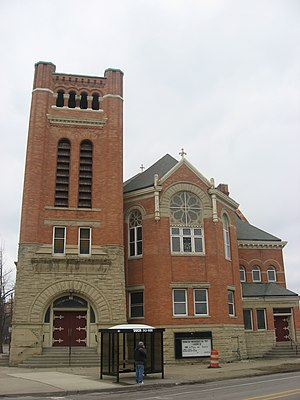 National Register of Historic Places listings in Lucas County, Ohio - Image: Ashland Avenue Baptist Church