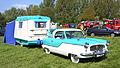 Austin Nash Metropolitan & Matching Caravan.JPG