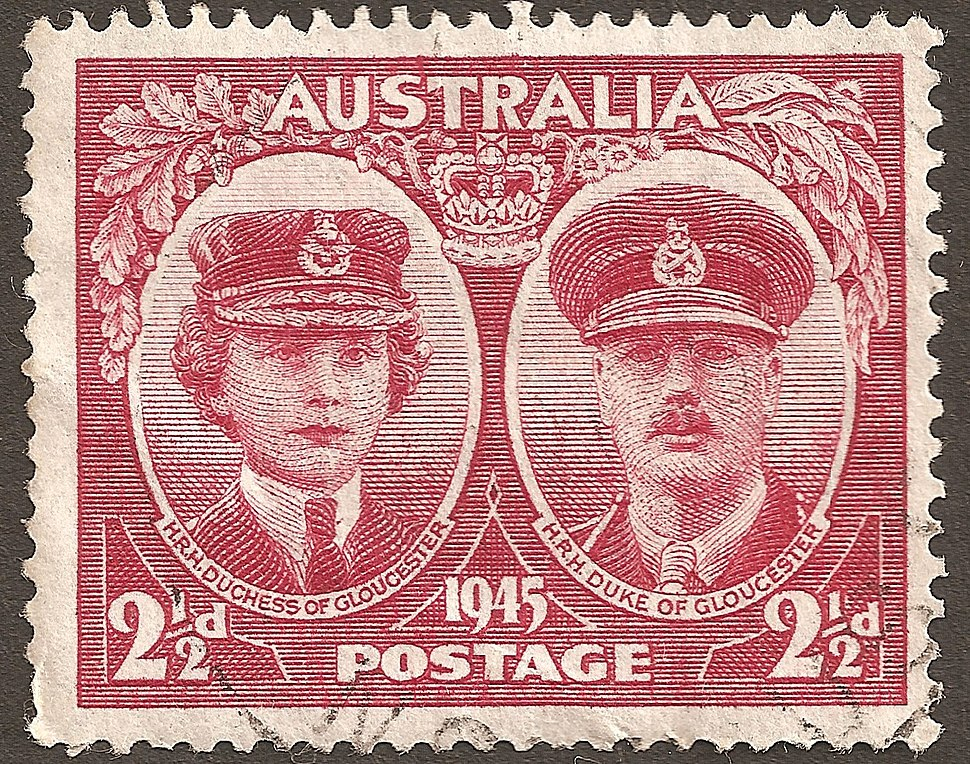 Australia stamp Gloucesters 1945