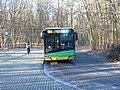 Autobus Solari Urbino 12 (IV) linii 184 na przystanku końcowym Nowe Zoo w Poznaniu - grudzień 2020.jpg
