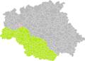 Avéron-Bergelle (Gers) dans son Arrondissement.png