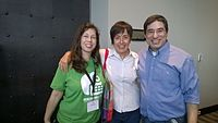 Avner and Darya's wiki Wedding at Wikimania by ovedc 25.jpg