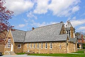 Avondale, Pennsylvania - Image: Avondale Presby Chesco PA side